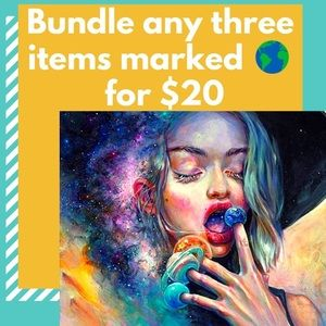 Other - 🌎Bundle any 3 items marked 🌎 emoji for $20!!!🌎